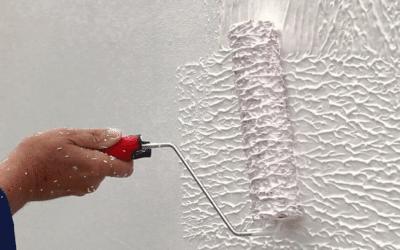 O que é textura rolada ou textura de rolo?